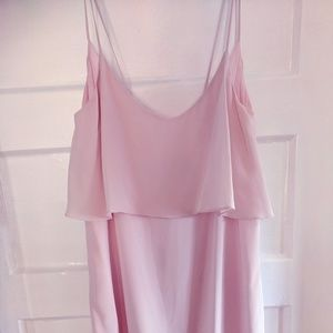 Rory Beca - NWT - Pink silk mini slip dress